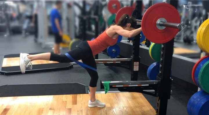 Band Glute Supersets